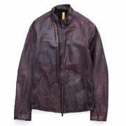 Layer-0 09 Aw Leather Jacket 44 144797858