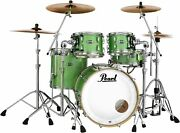 Pearl Masters Maple Complete 4-piece Shell Pack - 22 Kick - Absinthe Green