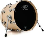 Dw Performance Series Bass Drum - 14 X 18 Natural Lacquer