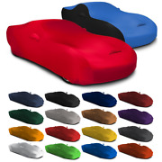 Satin Stretch Indoor Custom Fit Car Cover For Porsche 924