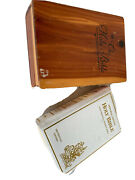 Vintage 1988 Memorial Edition Protestant Holy Bible Wooden Box Illustrated 8x5.5