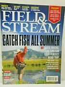 Field And Steam Magazine June 2014 Catch Fish All Summer Tips Tricks Lakes Rivers