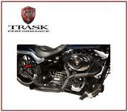 Scarico Trask Nb Performance 2 Into 1 Nero 99 - 16 Harley Tour