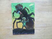 1994 Mars Attacks Archives New Visions Card 96 Signed William Stout Art, Poa