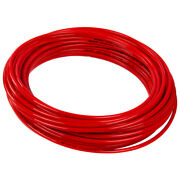 Hard Red Color-coded Tube For Chemicals Inner 10 Mm Outer Dia 12 Mm - 50 Ft