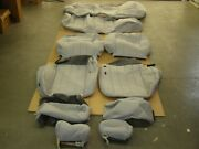 Oem 1998 Lincoln Town Car Seat Covers Interior Set Grey Cloth
