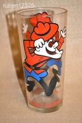 Dudley Do-right Canadian Mounted Police, Rocky And Bullwinkle Cartoon Promo Glass