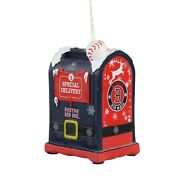 Boston Red Sox Christmas Tree Holiday Ornament New - Mailbox Letters To Santa