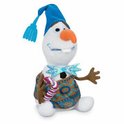 Disney Authentic Olafand039s Frozen Adventure Talking Holiday Plush 10 New In Box