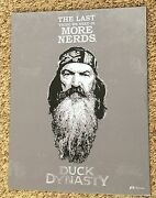 Metal 11x14 Humor Sign The Last Thing We Need Is More Nerds - Duck Dymasty