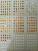 Complete Set 1941-2021 Pds Lincoln Wheat And Memorial Pennies Set G-bu 192 Coins