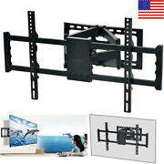 Adjustable Tv Wall Mount Bracket Full Motion Double Arm For 30-85 Tv And Monitor