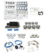 Rudyand039s Engine Overhaul Kit W/ Up Pipes For 2008-2010 Ford 6.4 Powerstroke