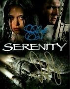Summer Glau And Nathan Fillion Signed Autographed Serenity Firefly Photo