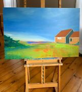 Cape Cod Lovers Give The Gift That Keeps On Giving A Lisa Courtney Painting