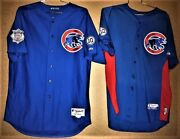 2 - Chicago Cubs James Russell 40 Two Jersey Mlb Majestic Size 50 Package