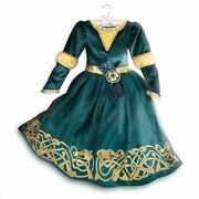 Disney Store Princess Brave Merida Halloween Costume Dress Girl Size 5/6 7/8