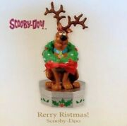 Hallmark 2010 Rerry Ristmas Greeting From Scooby-doo Dog Magic Ornament Qxi2056