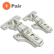 Soft Close Cabinet Door Hinges Half Overlay Frameless And Face Frame High-quality