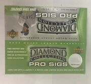 2004 Upper Deck Diamond Collection Pro Sigs Baseball Hobby Box Factory Sealed