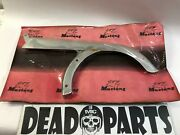 Harley Chrome Mustang 1984 1985 Fxst Softail Rear Chain Sprocket Guard Shield