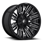 4 20x10 Fuel Matte Black Schism Wheel 5x139.7 And 5x150 For Ford Jeep Toyota Gm
