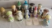 Bell Collection Royal Cornwall Toby Bells King Arthur And Court 1983 Lot Of 12
