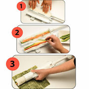 Lor Of 10 Perfect Sushi Roll Maker Kit Rice Rolle Tool Easy Use Diy Set Usa