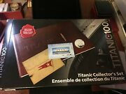 2012 Canada Post, Titanic Collector's Coin, Stamp And Memorabiia Set