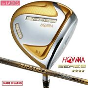 For Ladies 4-star Honma Golf Beres 07 Driver 1w Armrq 38 Made In Japan 2021c