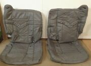 Ducks Unlimited Chevy Tahoe 99 Oem Rear Pass Landr Seat Covers Splitbench Gray