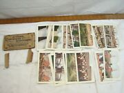 2 Sets 25 Stereograph Views World And Us Stereoview Cards With Box Sights