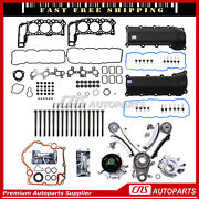 Head Gasket Set Bolts Valve Cover Timing Component For 05-10 Dodge Jeep 3.7 Sohc