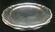3 Dinner Plates Queen Anne Armetale Wilton Pewter Holloware Glossy 111694
