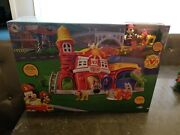 Disney Nib Mickey Mouse Clubhouse Fire Station Firestation Playset Play Set New