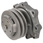 87800109 Water Pump Double Pulley Fits Ford Tractor 2000 3000 4000 5000 6500