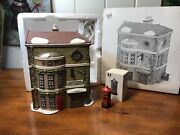 Dept 56 Dickens Village King's Road Post Office And English Post Box