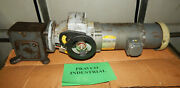 Baldor 1hp Motor With Falk Worm Gear With Stober Drives Adjustable Speed Drive