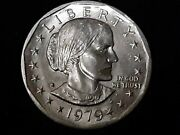 Rare 1979 Susan B Anthony Silver 1 With Dew Drop Mint Mark Mistake
