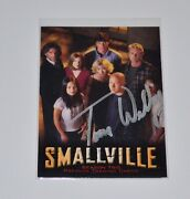 Smallville Season Two Dealer Promo Card Signed Tom Welling Autograph
