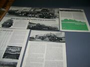 Baldwin Yellowstones Steam Locomotives Part 1 And 2..photos/details 208v