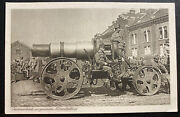Mint Austro Hungarian Empire Rppc Real Picture Postcard Mortar Battery