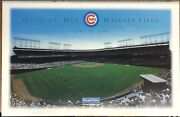 Wrigley Field Opening Day 2000 Chicago Cubs 11x17 News Stand Sign Poster Tribune