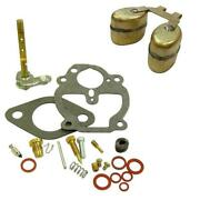 Carburetor Repair Kit And Carb Float For Zenith Fits Case S Sc Se Si So Tractor