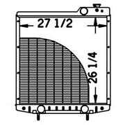 Tractor Radiator Fits Case Ih 7110 7120 7130 7140 7150 7220 7230 7240 Oe A190663