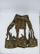 New Eagle Industries H-harness Chest Rig Multicam Hg-vs-ms-5cca Molle Combo