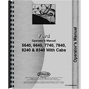 Operators Manual Fits Ford 7840 Tractor 2and4 Wd W/ Sl Sle Transmission