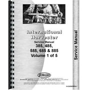 New Chassis Service Manual Made Fits Case-ih International Tractor Models 885