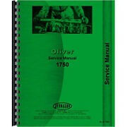 Oliver 1750 Tractor Service Manual