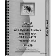 New Parts Manual Fits Ford 851 Tractor